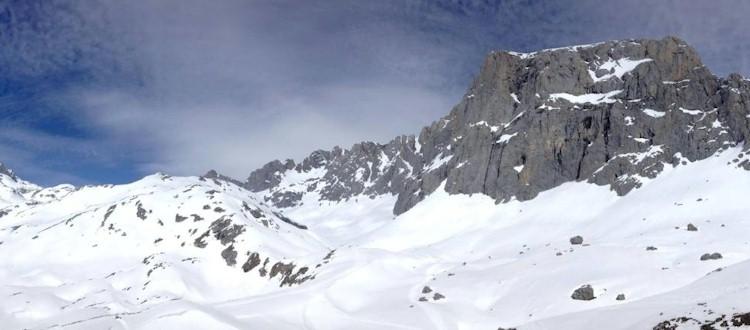 Picos de Europa con nieve