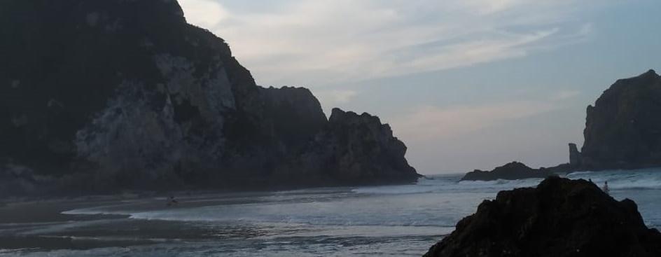 Playa de la Franca- Otoño mar